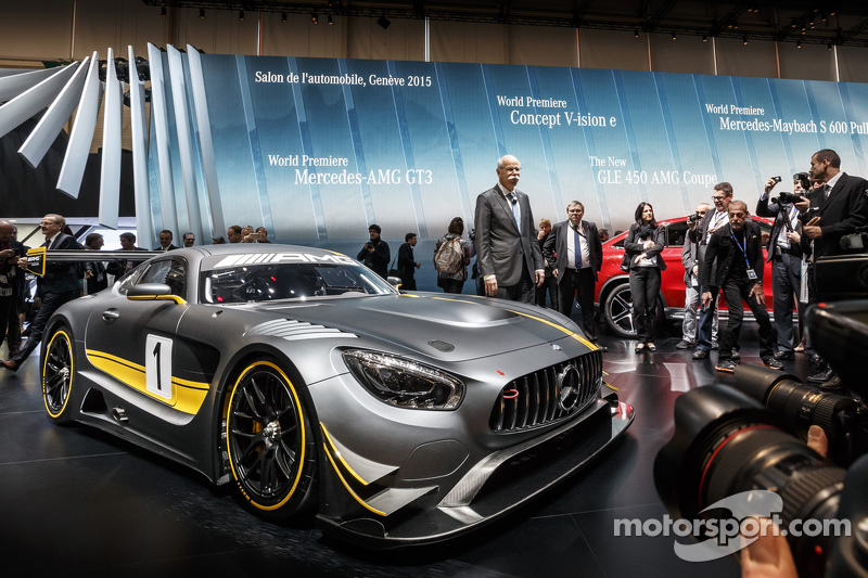 The Mercedes AMG GT3