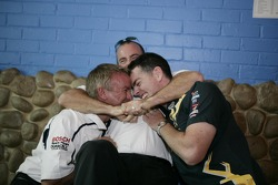 Craig Lowndes, Russell Ingall and Marcos Ambrose