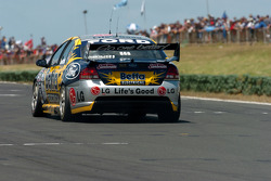 Craig Lowndes down pit straight