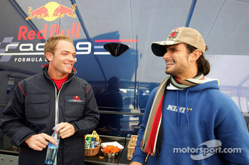 Robert Doornbos and Vitantonio Liuzzi
