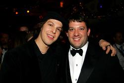 NASCAR Nextel Cup Awards Banquet at the Waldorf Astoria Hotel: Tony Stewart and recording artist Gavin DeGraw