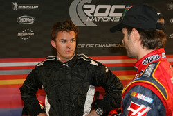 Dan Wheldon and Jeff Gordon