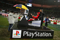 Sébastien Loeb beats the Playstation game winner at his own game