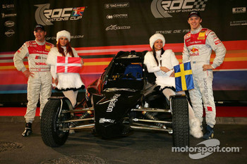 Scandinavia Nations Cup team Tom Kristensen and Mattias Ekström