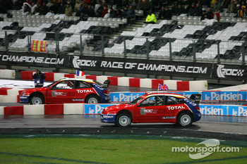 Semi final: Sbastien Loeb and Colin McRae