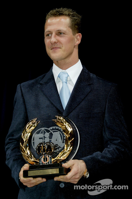 FIA Formula One third place Michael Schumacher