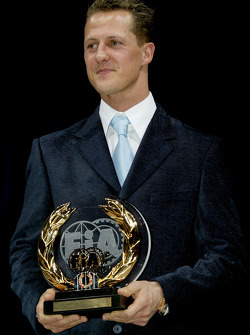 FIA Formula One third place Michael Schumacher