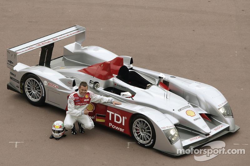 #10: Tom Kristensen mit dem neuen Audi R10