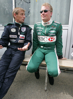 Stuart Graham and Johnny Herbert