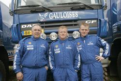 Team de Rooy: Gerard de Rooy, Tom Colsoul and Arno Slaats