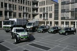 Kwikpower Mercedes-Benz Team: the Kwikpower Mercedes-Benz vehicles