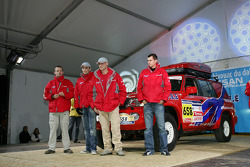 Team Nissan Dessoude public presentation: Team Nissan Dessoude assistance team and vehicle