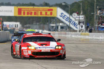 #86 Care Racing - Larbre Ferrari 550 Maranello: Sbastien Bourdais, Christophe Bouchut, Fabricio Gollin