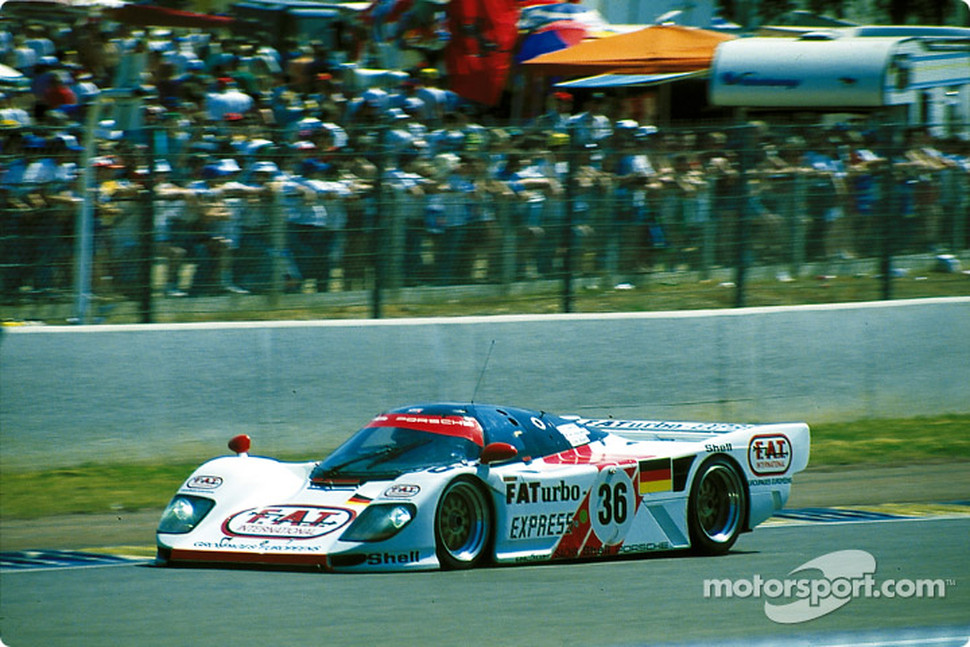 #36 Dauer 962 LM GT: Mauro Baldi,Yannick Dalmas, Hurley Haywood