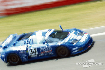 #34 Bugatti EB110S: Alain Cudini, Eric Hlary, Jean-Christophe Boullion