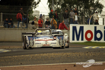 #10 Courage Comptition Courage C36 Porsche: Fredrik Ekblom, Jean-Louis Ricci, Jean-Paul Libert