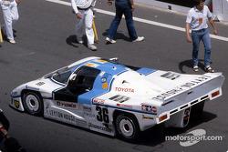 #36 Tom's Team Tom's Toyota 85C: Satoru Nakajima, Masanori Sekiya, Kaoru Hoshino