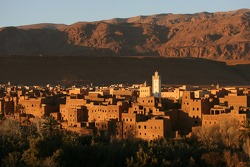 Spectacular scenery near Ouarzazate
