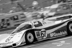 #67 Busby Porsche 962: Bob Wollek, Mauro Baldi, Brian Redman