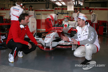 Ralf Schumacher with Peter Neururer