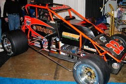 Jason Barger's #32 Silver Crown car.  Another endangered car, but plans are afoot to keep them running.