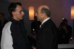 Robert Kubica and Peter Sauber