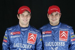 Kronos Total Citroën service area: Sébastien Loeb and Daniel Elena