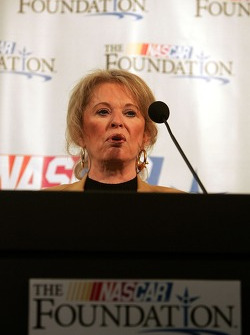 NASCAR Foundation press conference: Betty Jane France