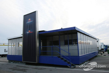 Red Bull Racing team hospitality