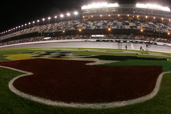 A wet trioval at Daytona