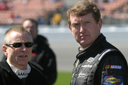 Mark Martin and Bill Elliott