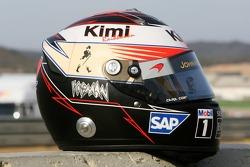 Helmet of Kimi Raikkonen