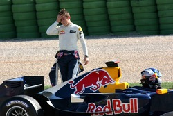 Christian Klien stopped on track