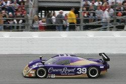 Demonstration run by the Cheever Racing Lexus Crawford Daytona Prototype car before the race
