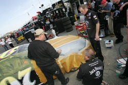 Jack Daniel's Chevy crew members at work
