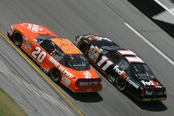 Tony Stewart and Denny Hamlin