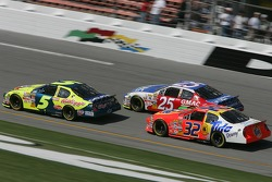 Kyle Busch, Brian Vickers and Travis Kvapil