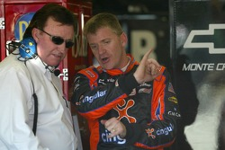 Richard Childress and Jeff Burton
