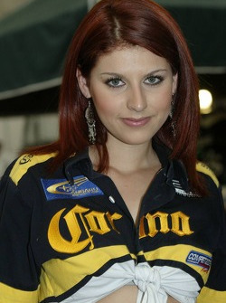 A charming Corona girl