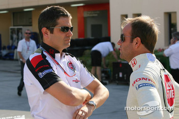 Gil de Ferran and Rubens Barrichello