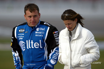 Ryan Newman and wife Krissie