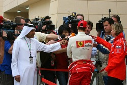 Interviews for Michael Schumacher