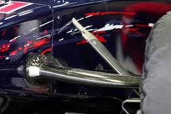 Detail of the Scuderia Toro Rosso