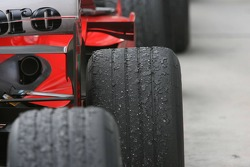 Tires after the race