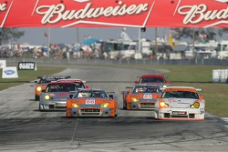 #86 Spyker Squadron Spyker C-8 Spyder: Jeroen Bleekemolen, Mike Hezemans, #78 J3 Racing Porsche 911 GT3 RSR: Spencer Pumpelly, Jep Thornton, Mark Patterson
