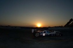 Sunset racing for #16 Dyson Racing Team Lola B06/10 AER: James Weaver, Butch Leitzinger, Andy Wallace
