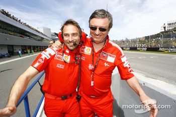 Livio Suppo and Federico Minoli celebrate