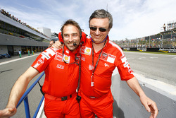 Livio Suppo and Federico Minoli celebrate