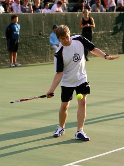 Pitstop tennis Pro-Am charity event: Nick Heidfeld