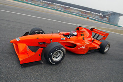 Jan Lammers (NED) who briefly drove Jos Verstappens vehicle around the Shanghai circuit